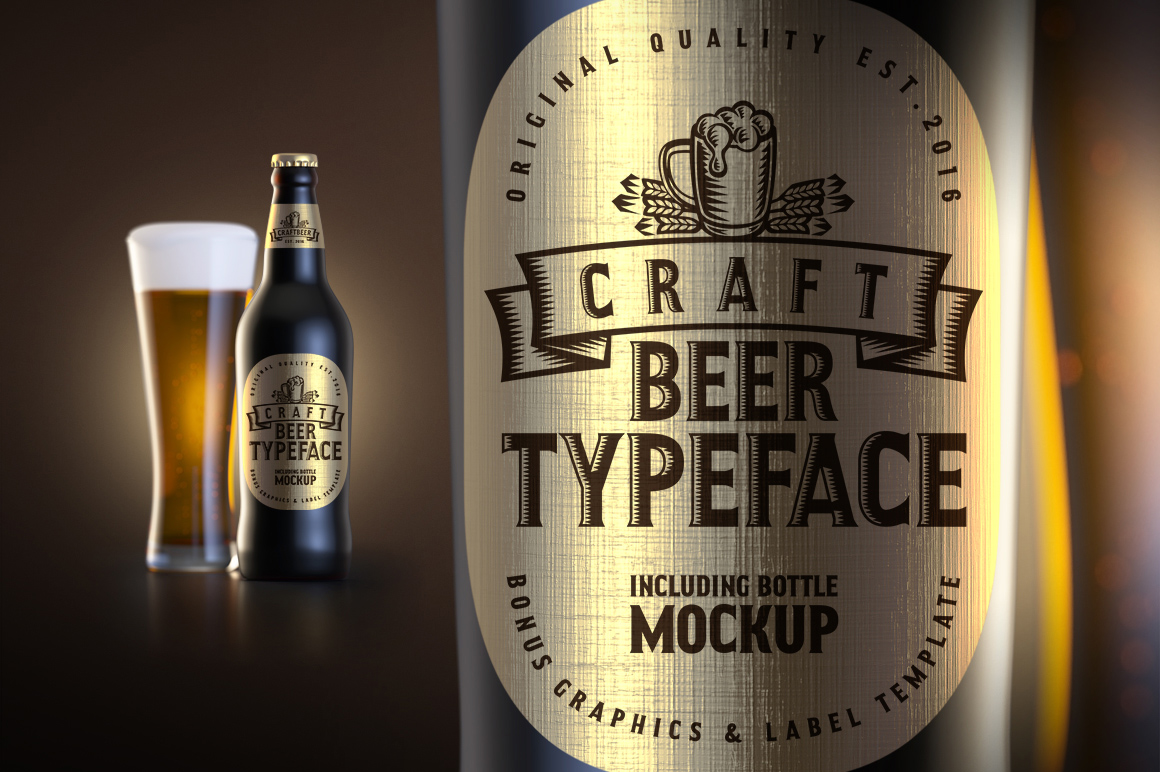 Craft Beer Typeface example image 1