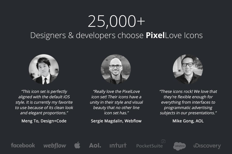 5000 iOS Icons - PixelLove example image 5