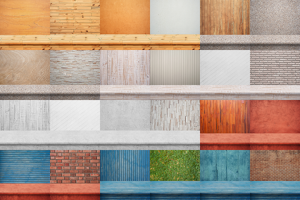 100 Realistic Shelves on Wall. Set 1 example image 4