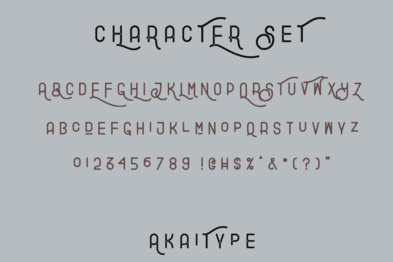 Explore - Stylish Typeface example image 7