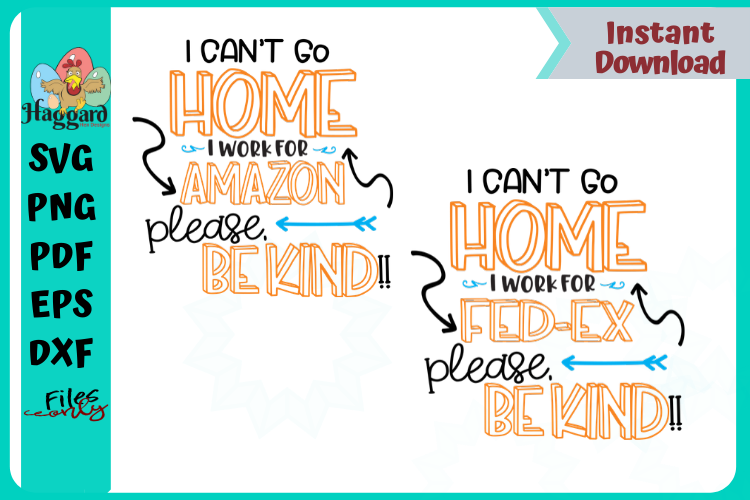I can't stay home Mail-Force Bundle example image 5