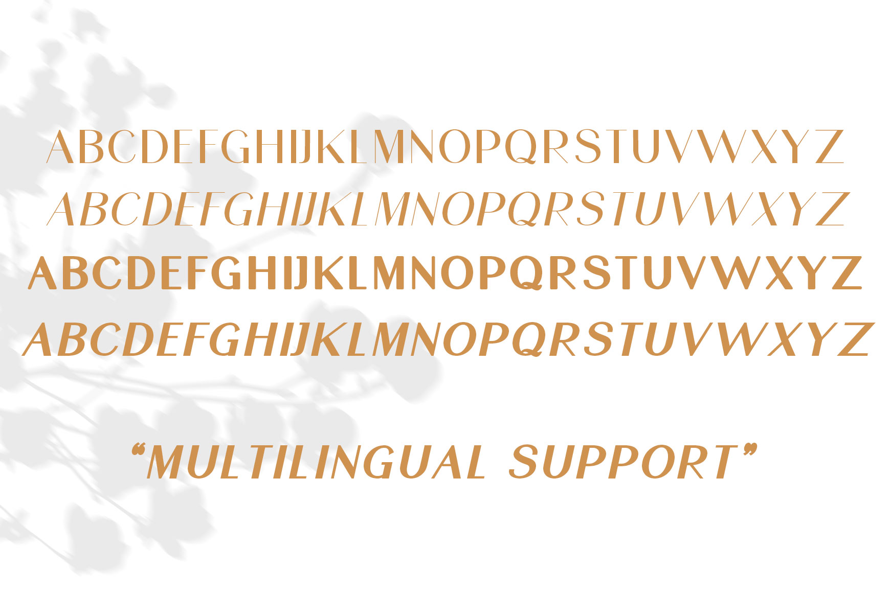 SunGold - Font Family example image 7