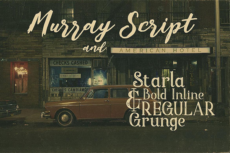 Murray Script Font Duo example image 2