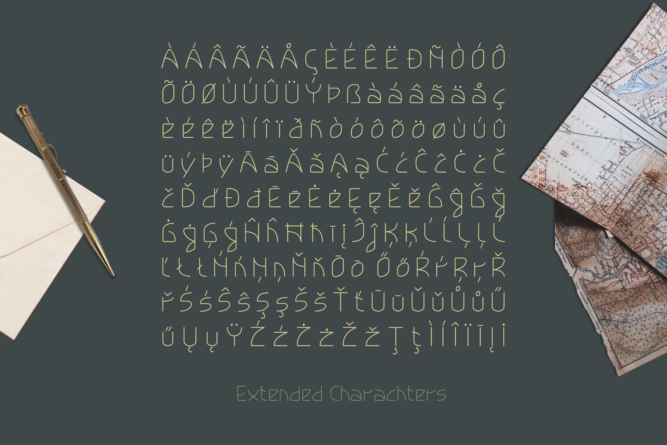 Lokka Extended Font example image 9