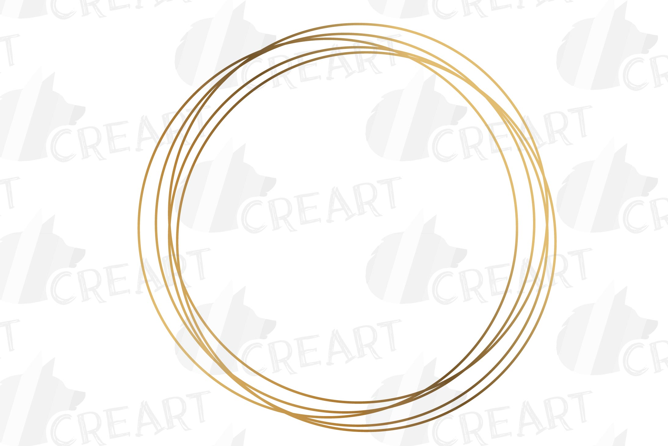 Elegant wedding geometric golden frames, lineal frames svg example image 23