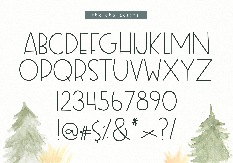 Foxtrot - Handwritten Font example image 9