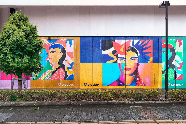 12 Realistic Mural Street Mockup - PSD example image 15