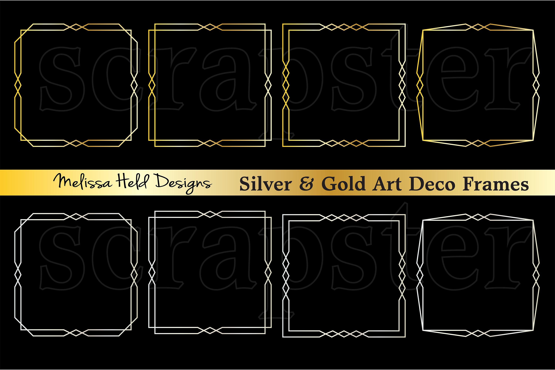 Art Deco Frames example image 1