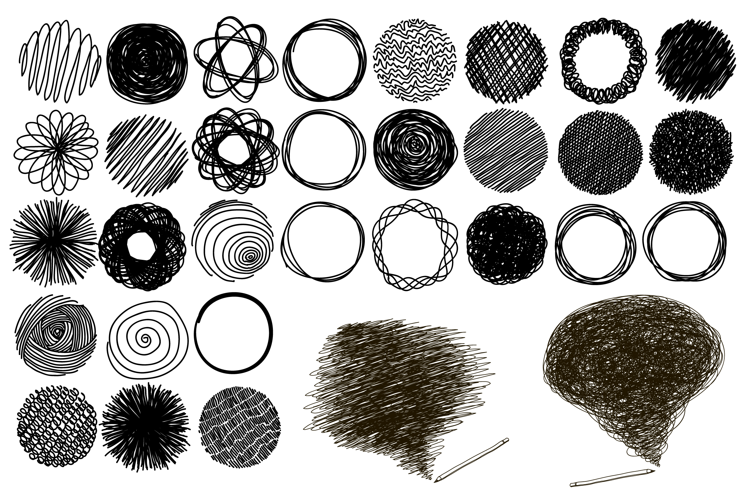 Doodle circles example image 1
