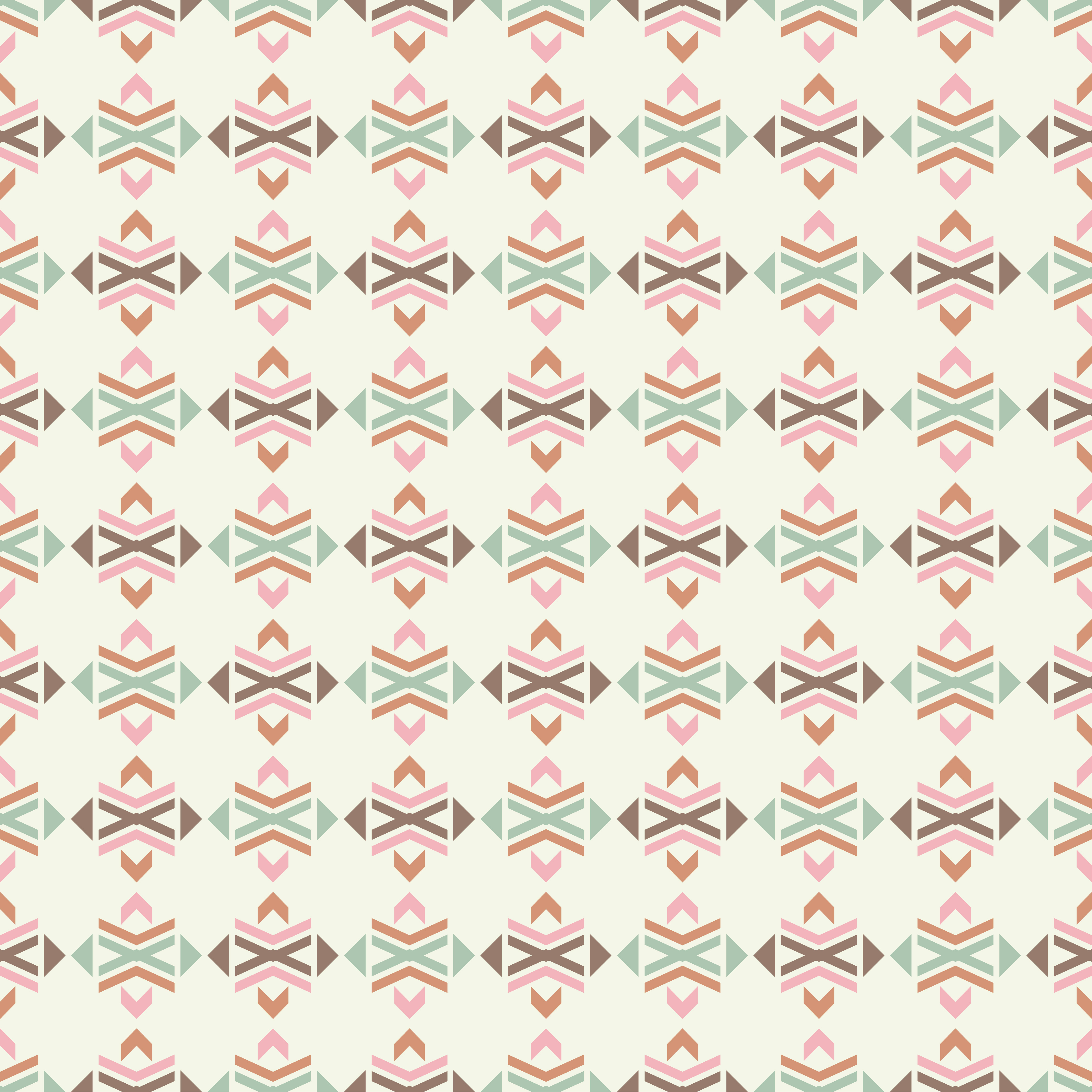 Set of 6 Ethnic boho seamless pattern. Tribal pattern.  example image 2