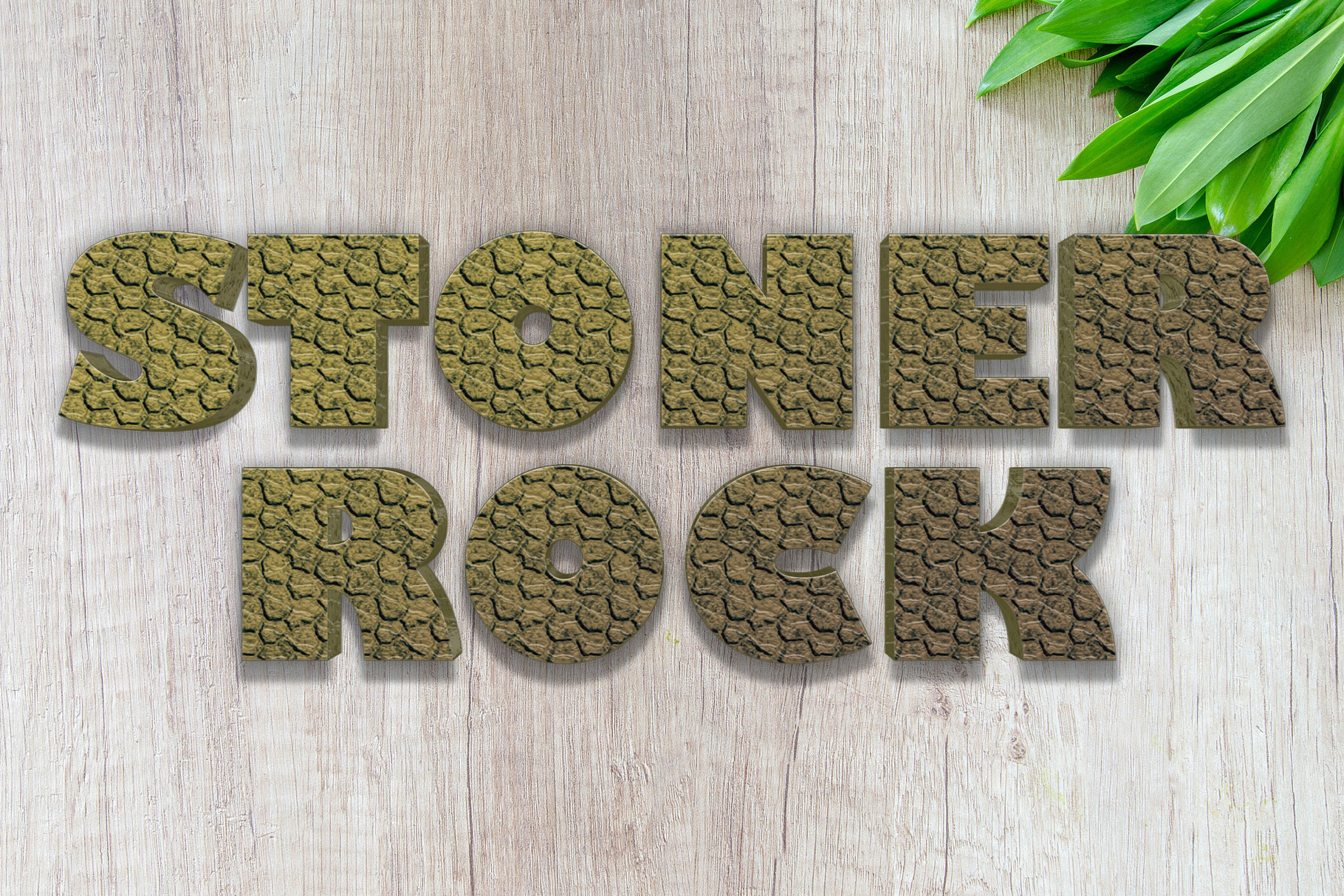 10 Stone / Rock Layer Style for Photoshop example image 10