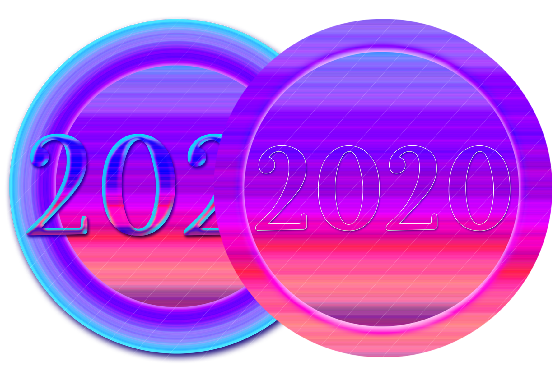 2020 New Year Designs for PRINTING, High Resolution example image 6
