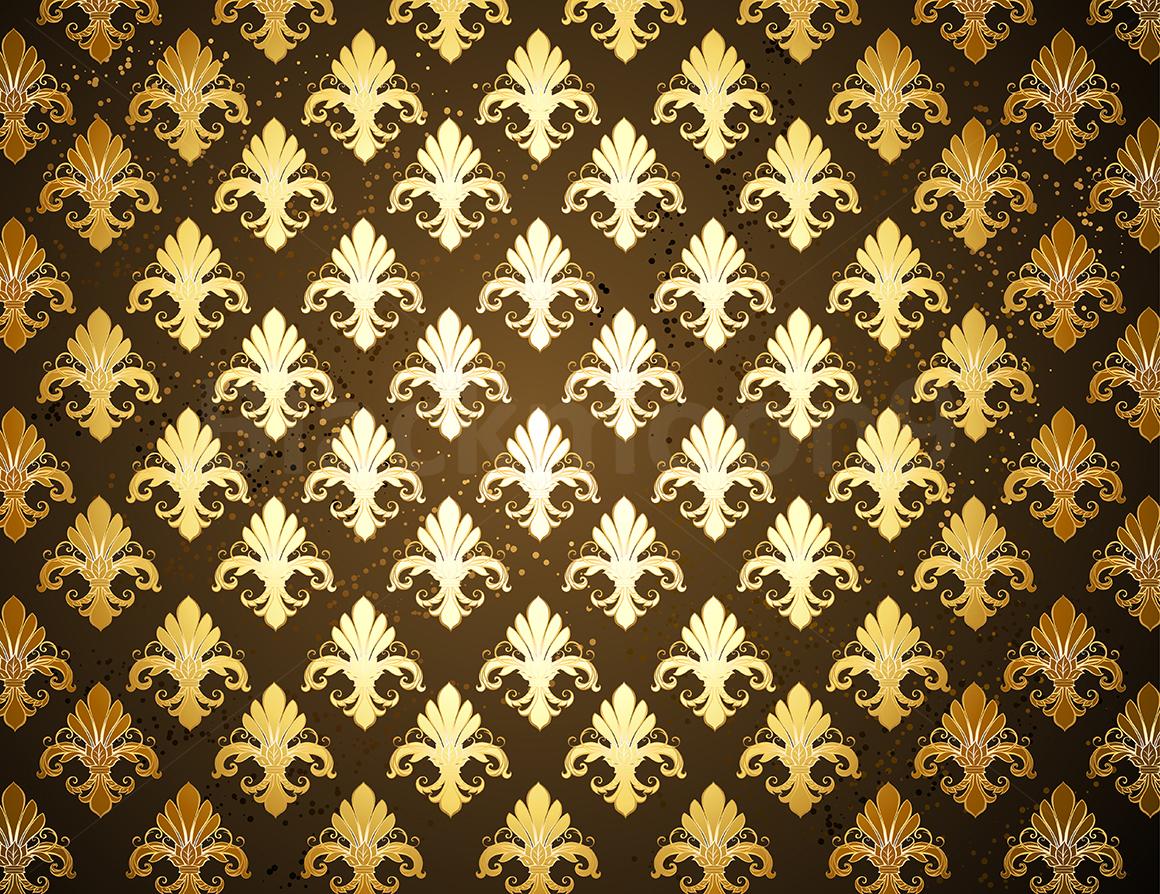 Background with Gold Fleur De Lis (30879) | Backgrounds ...