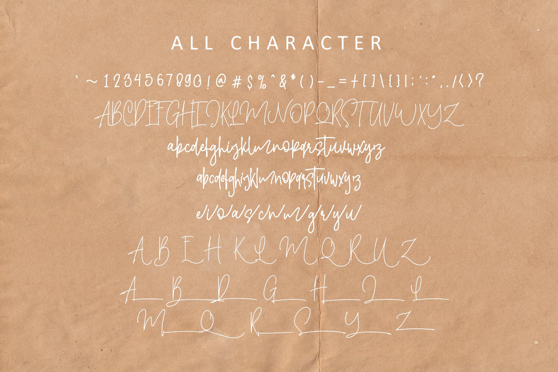 Yashintta Font Duo example image 4