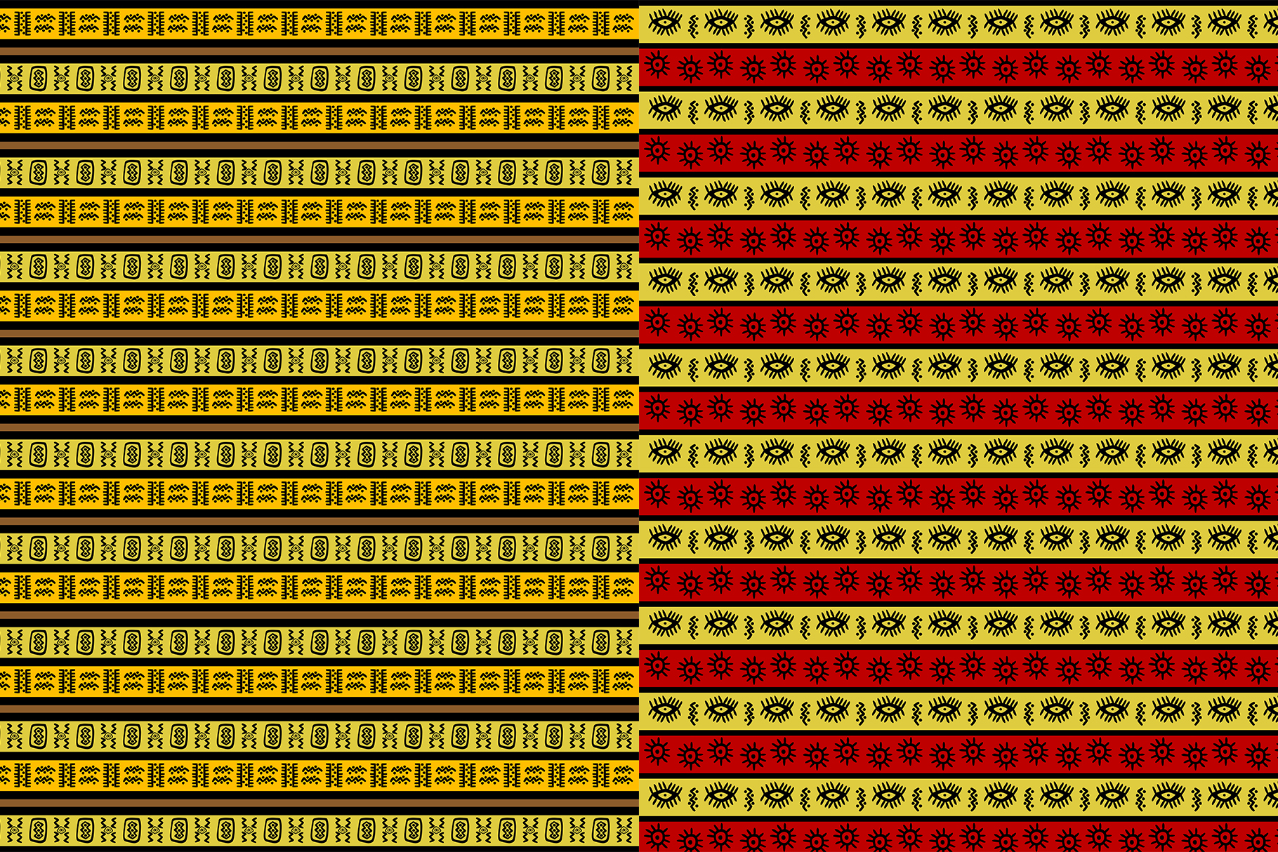 10 African Ethnic Patterns example image 6