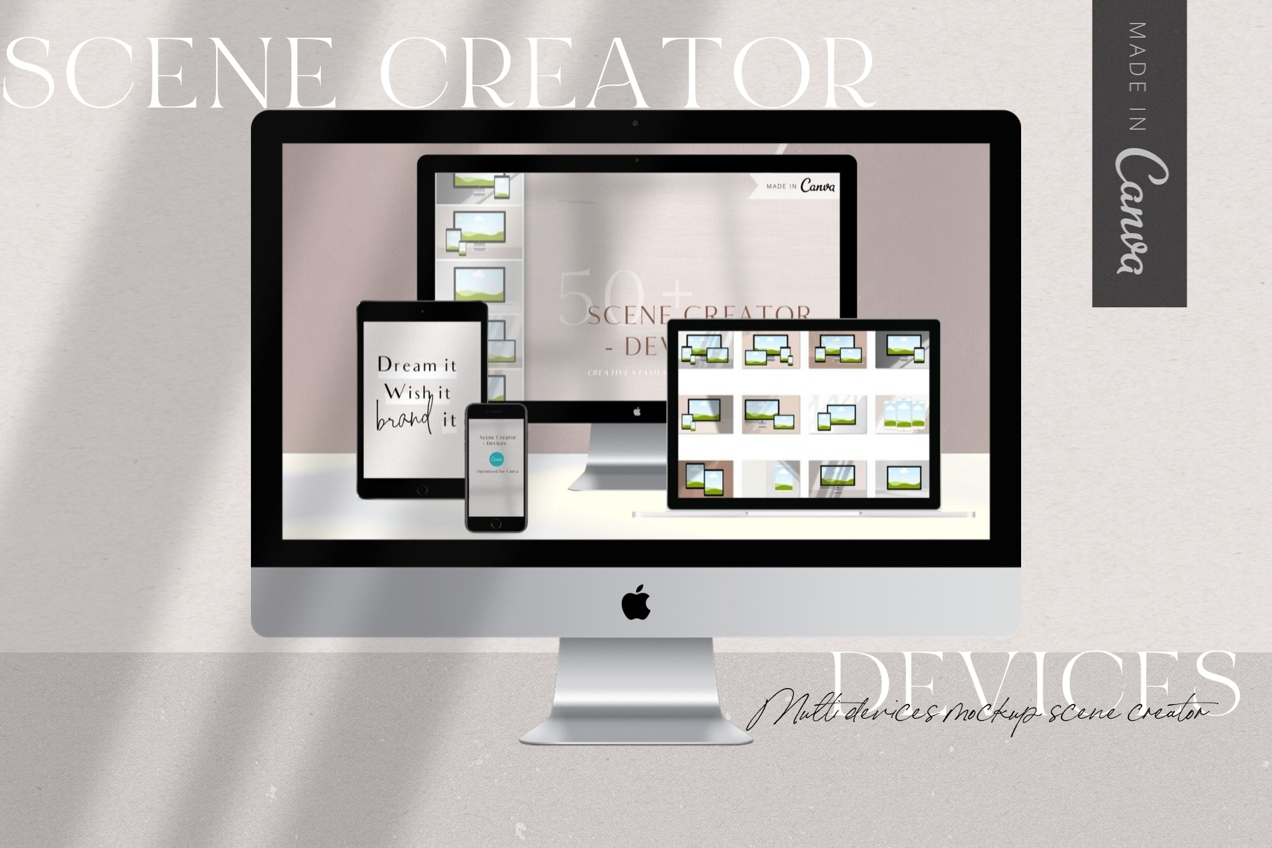 Canva Devices Mockup Scene Creator example image 1