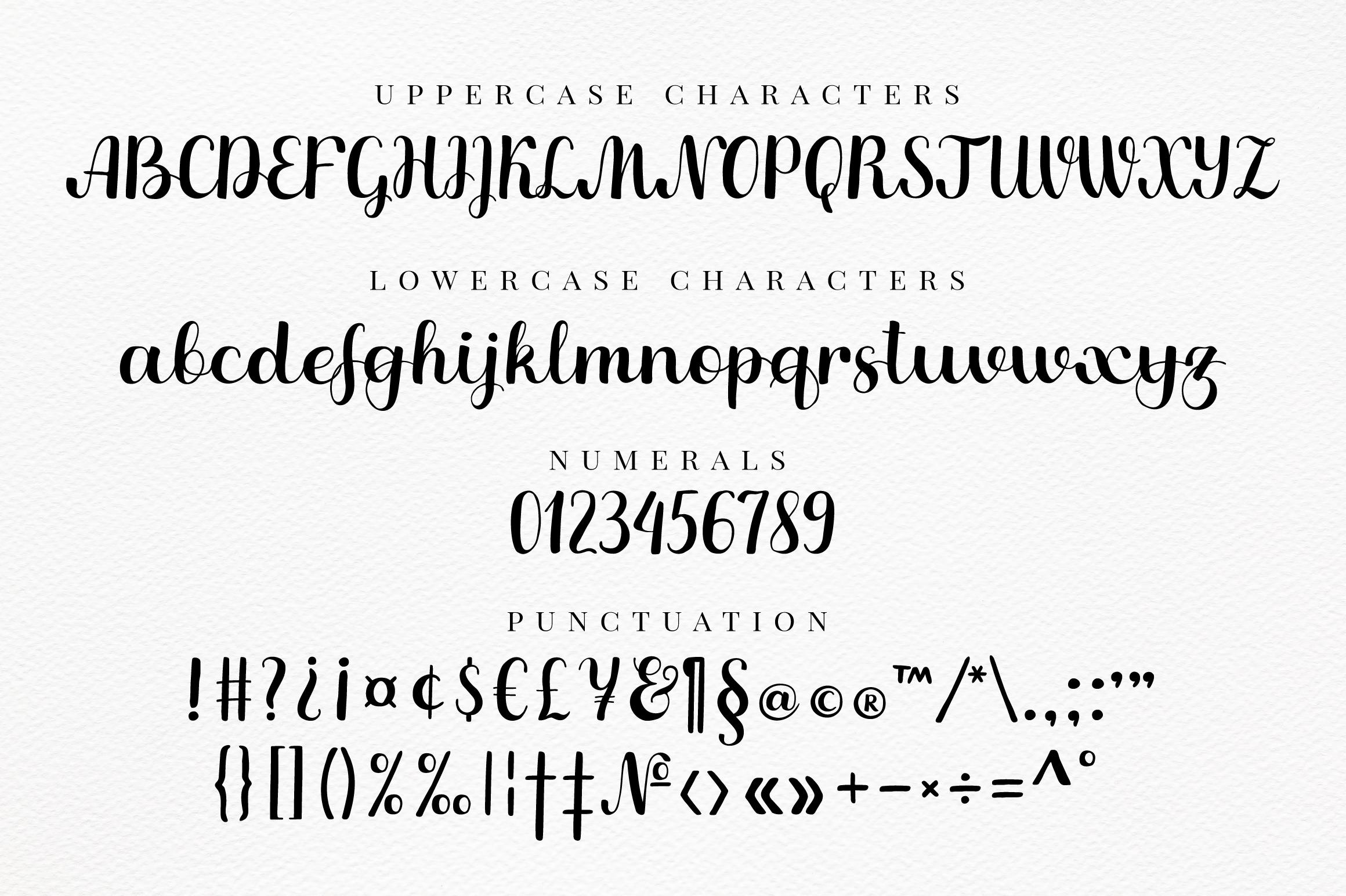 Mandolino - fun script font example image 2