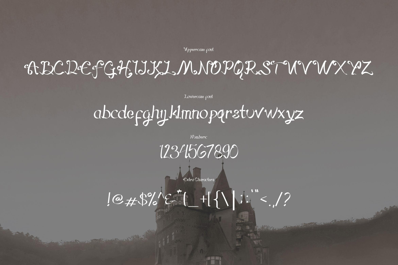 Hegorustow Font example image 2