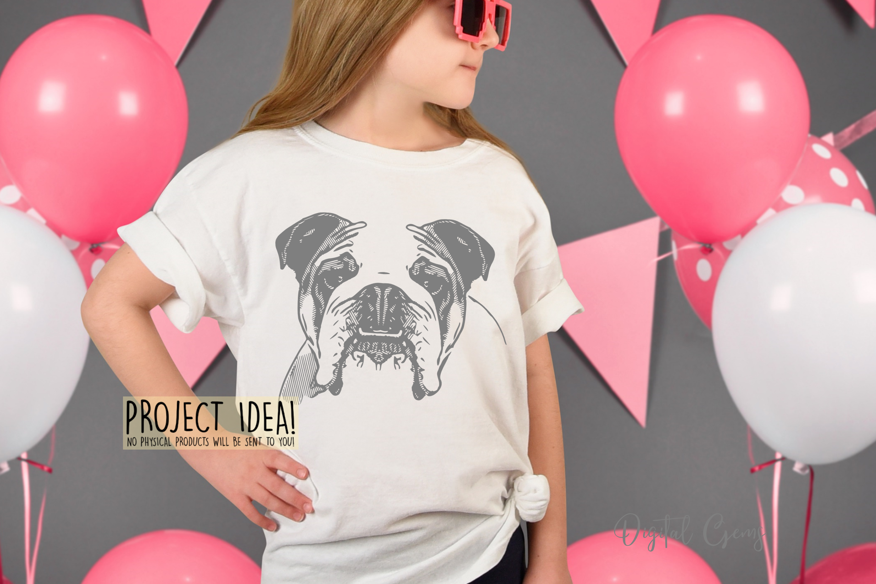 English Bull Dog SVG / EPS / DXF / PNG Files example image 4