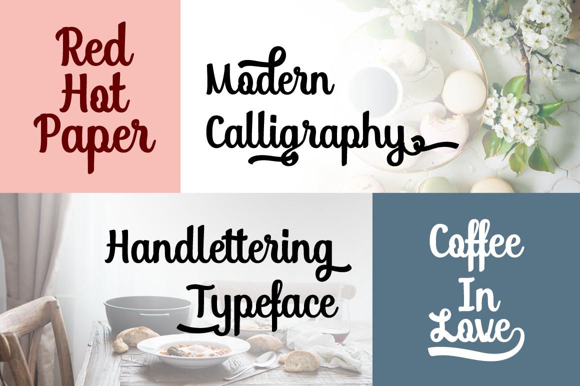 Soybeanut - Brush Script Font example image 5