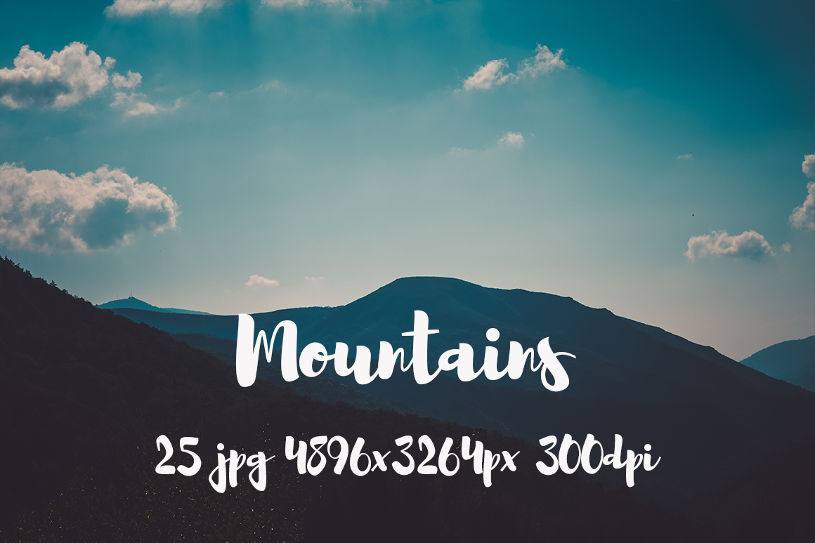 Mountains Pack example image 12
