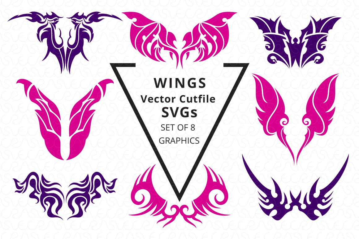 SVG Cutfiles Bundle-1 with 200 Unique Shapes example image 14
