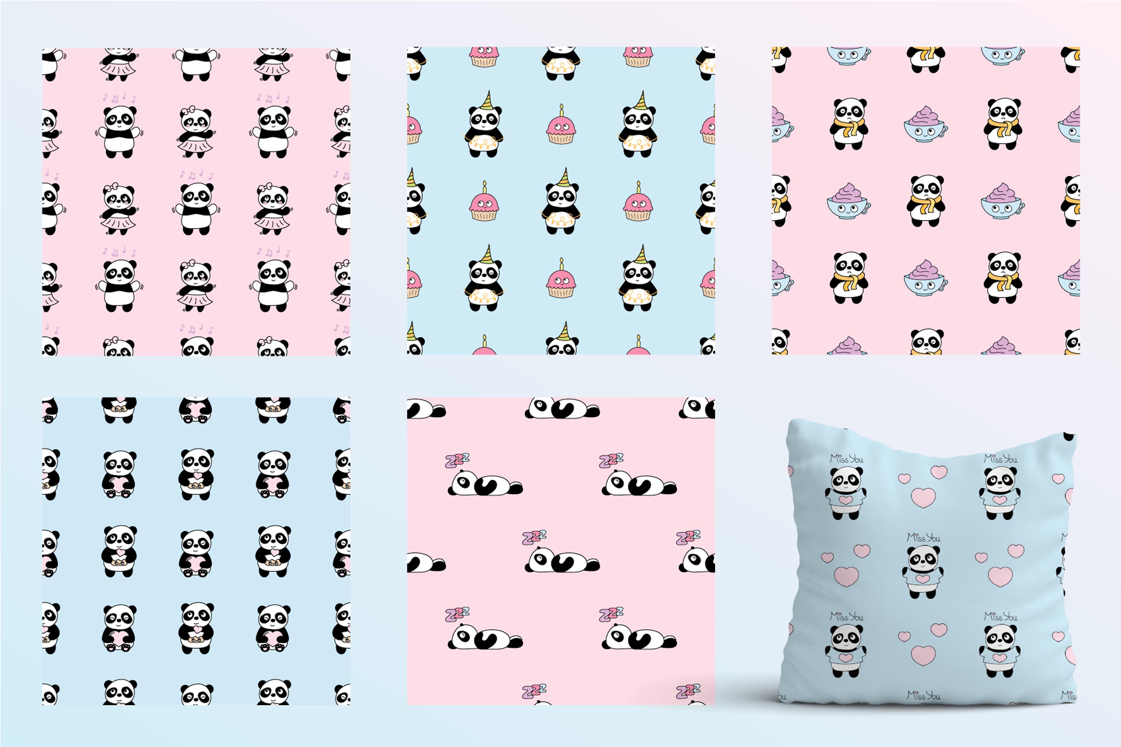 Cute Panda example image 5