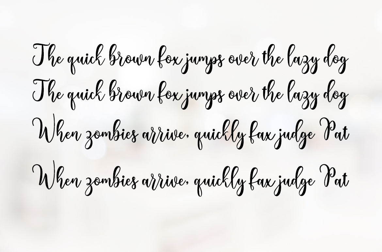 Lovely Valentine Script example image 5