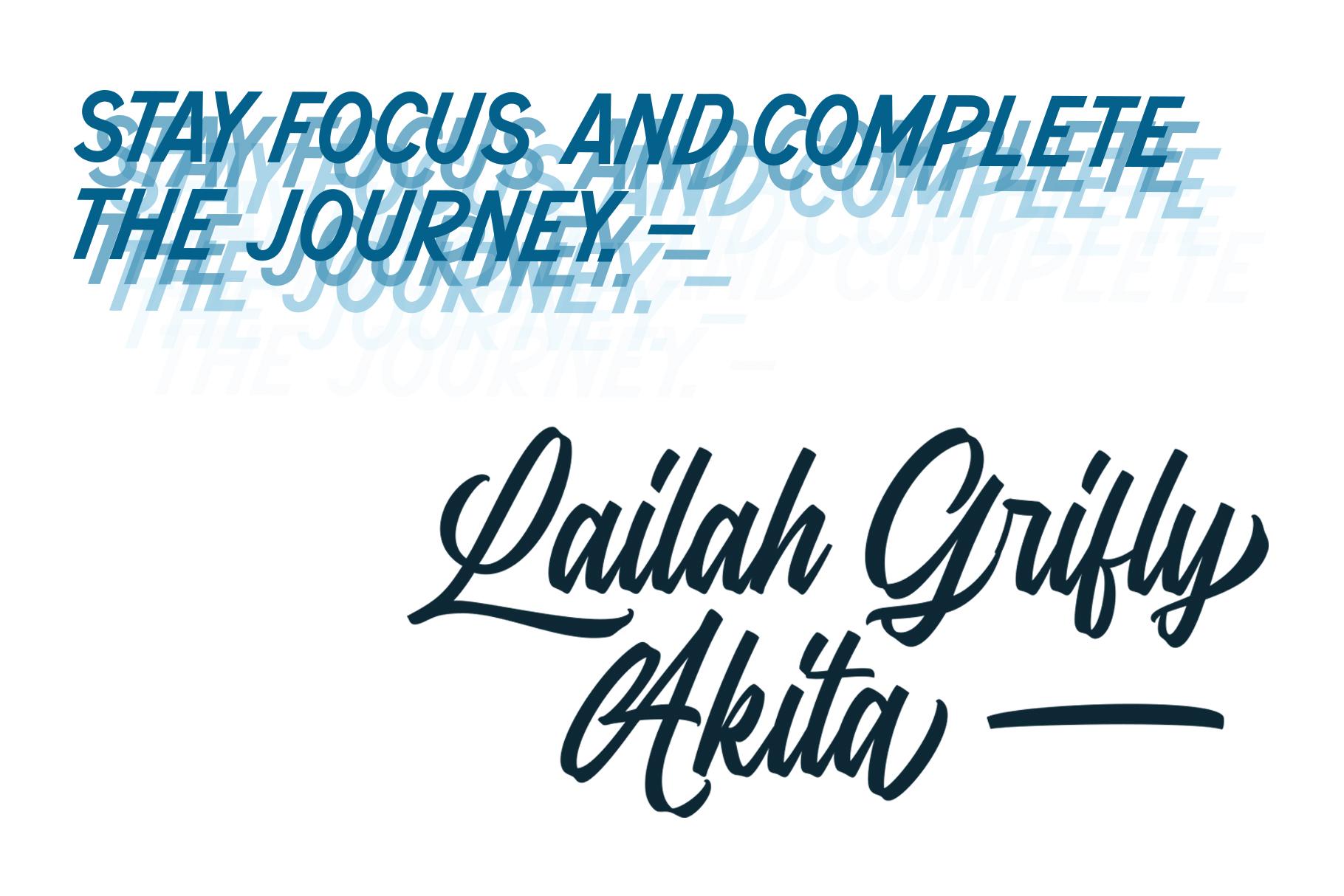 Anguine - Stylish Typeface example image 3