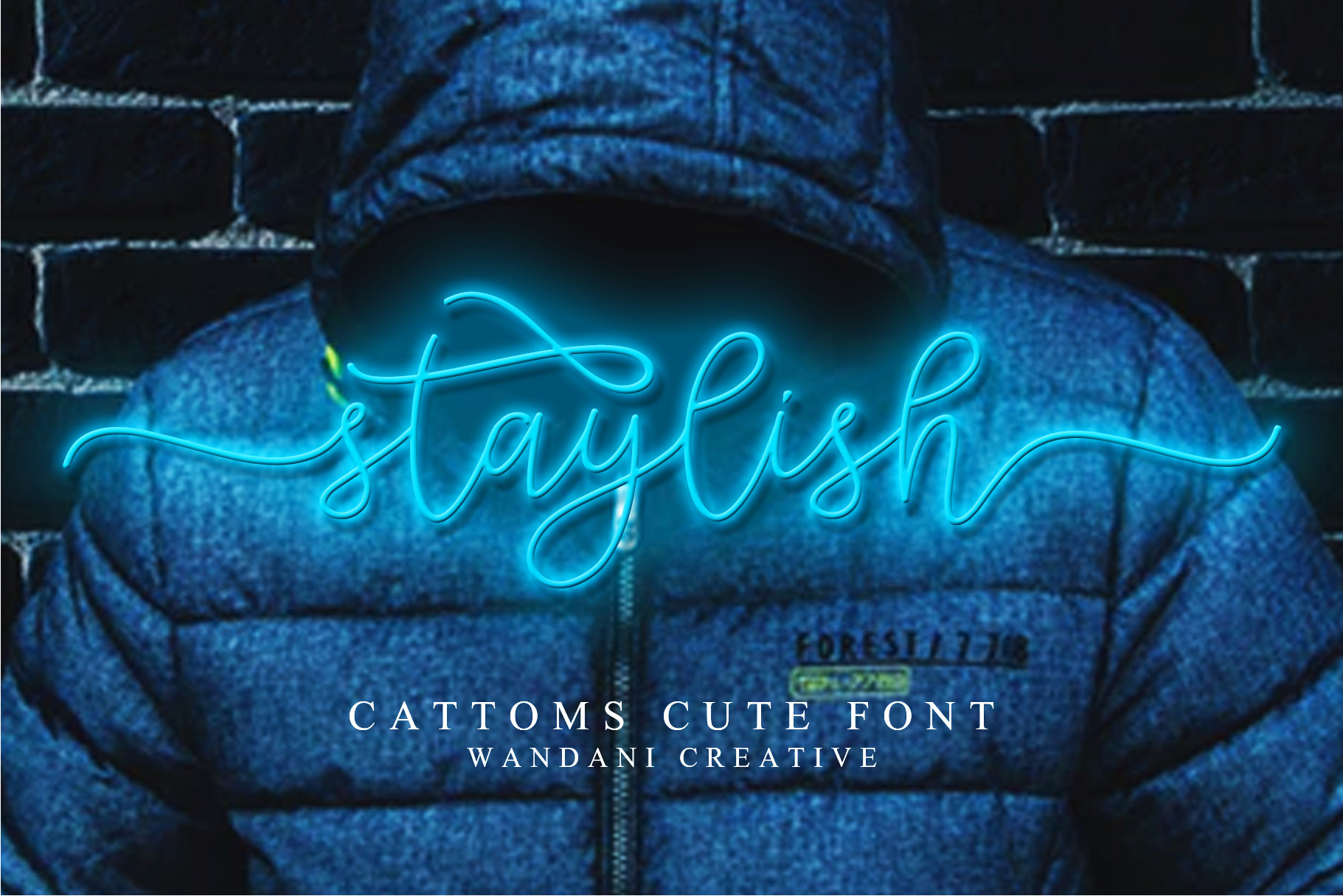 Cattoms Cute Script Fonts example image 7