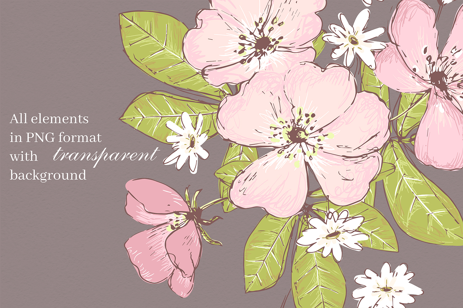 Secret Garden graphic kit example image 9