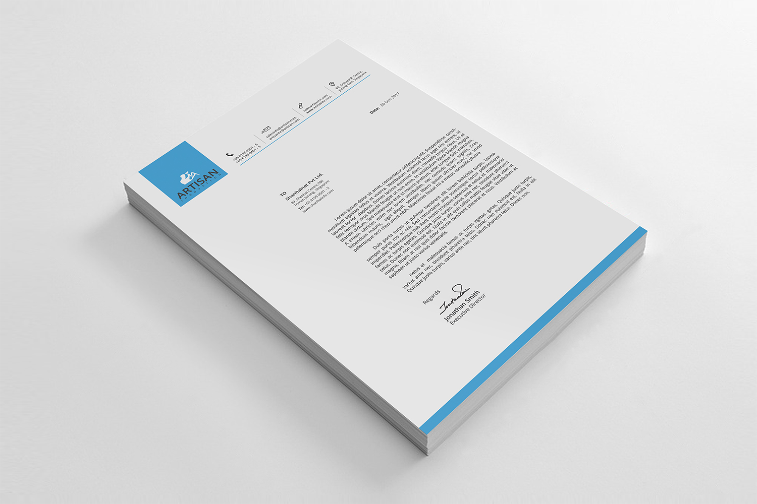 Simple Letterhead Bundle example image 5