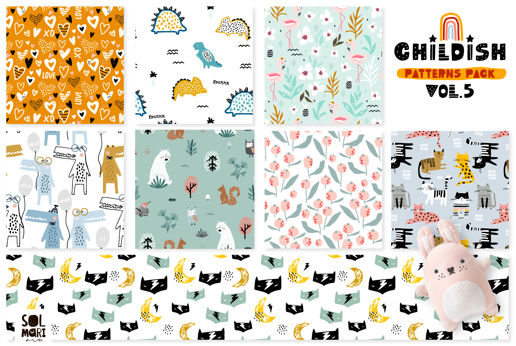 Childish patterns pack vol. 5 example image 3