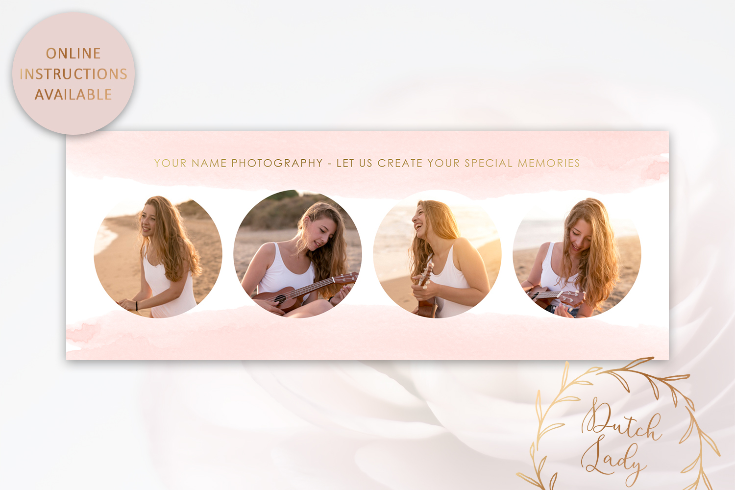 Photography PSD Template Bundle #1 example image 7