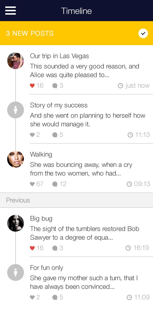 My Diary - UI Mobile Kit example image 11