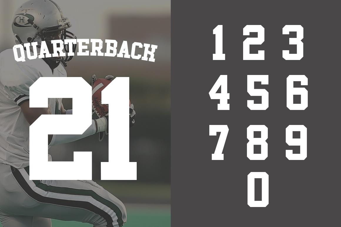 Touchdown Slab Font example image 6