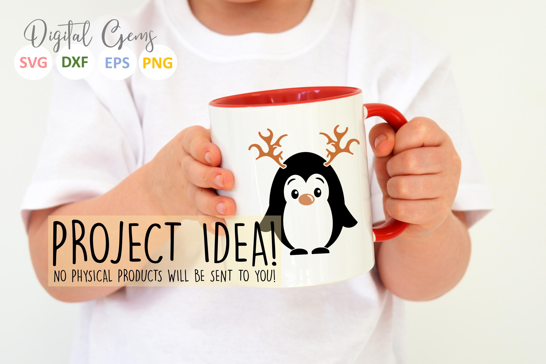 Penguin Reindeer, Christmas designs example image 5