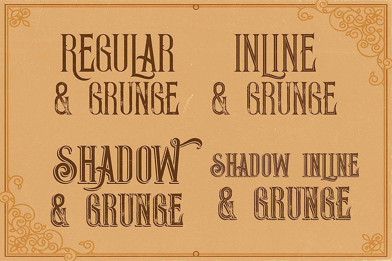 Thunder Typeface example image 2