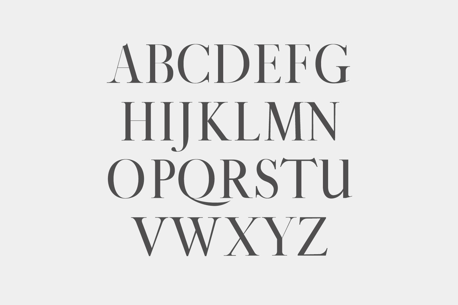 Gunma Serif Font Family Pack example image 2
