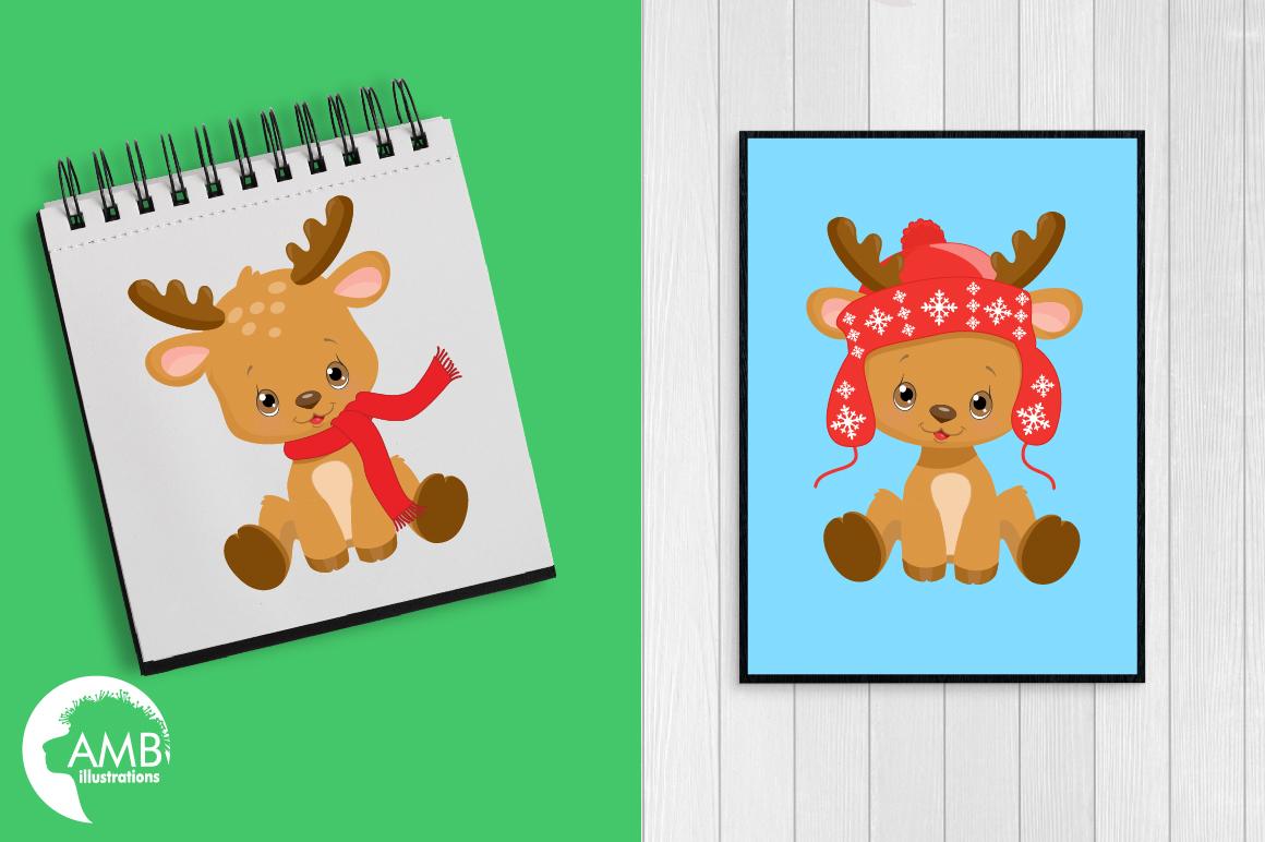 Santa's Baby Reindeer AMB-2288 example image 4