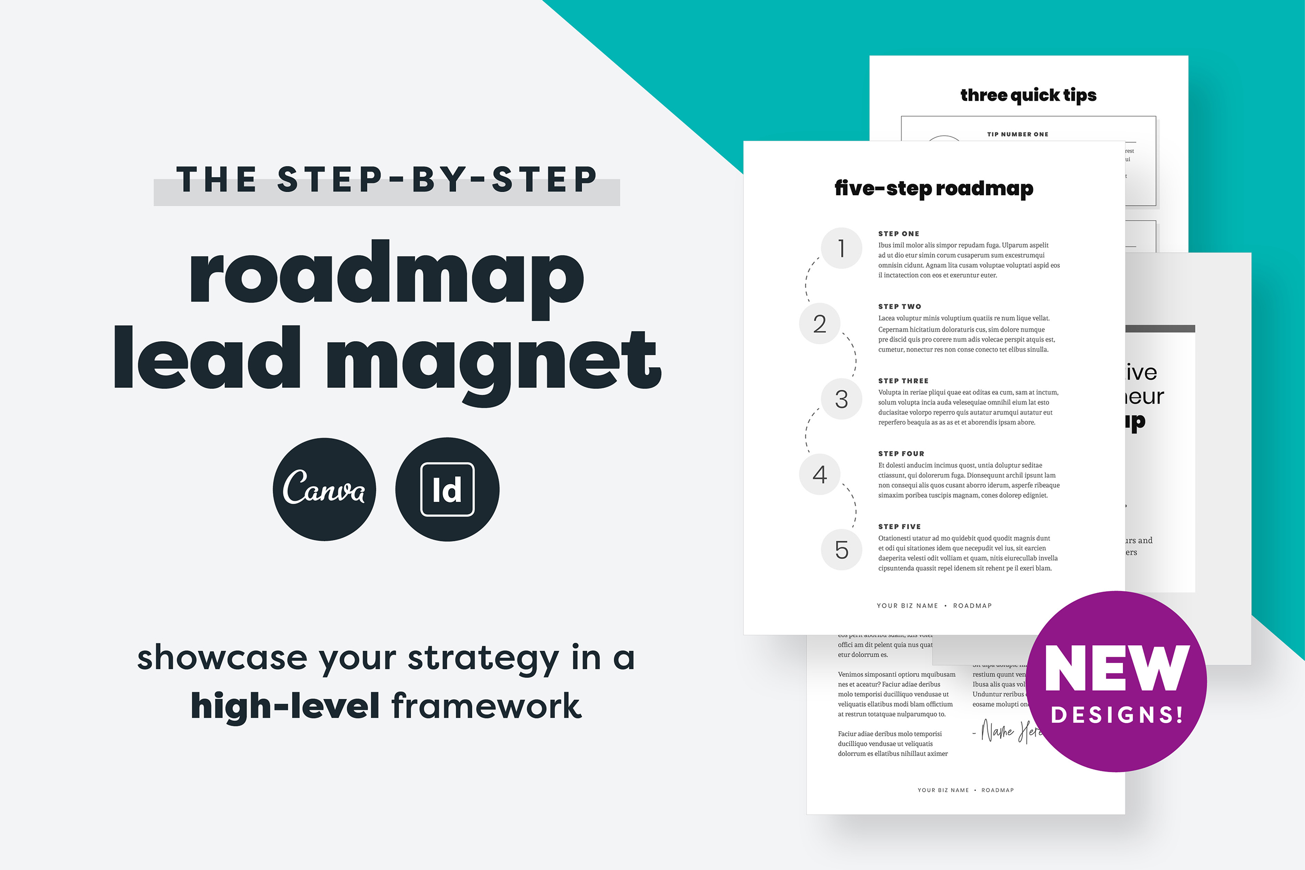 Roadmap Opt-In Lead Magnet example image 1