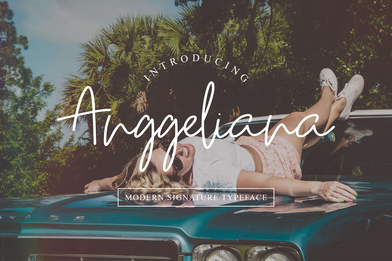 Anggeliana Font example image 1