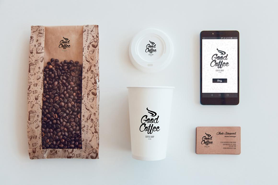 Coffee Branding Mock-up example image 6