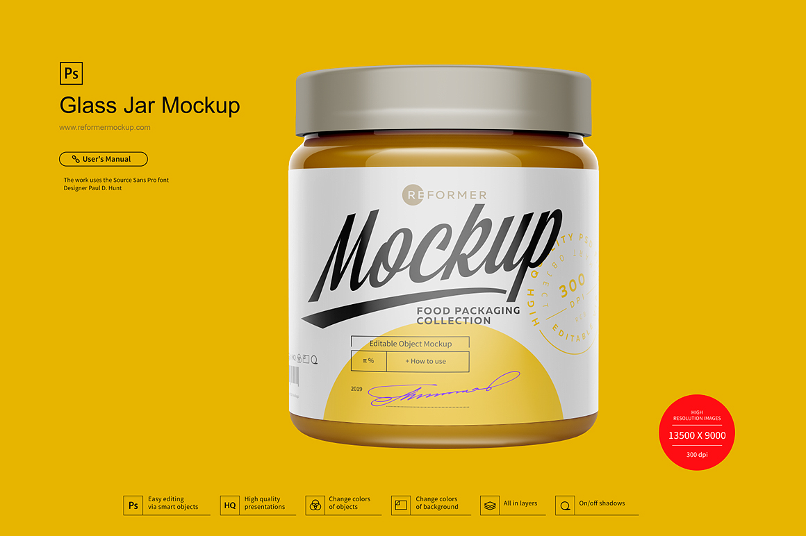 Glass Jar Mockup example image 2