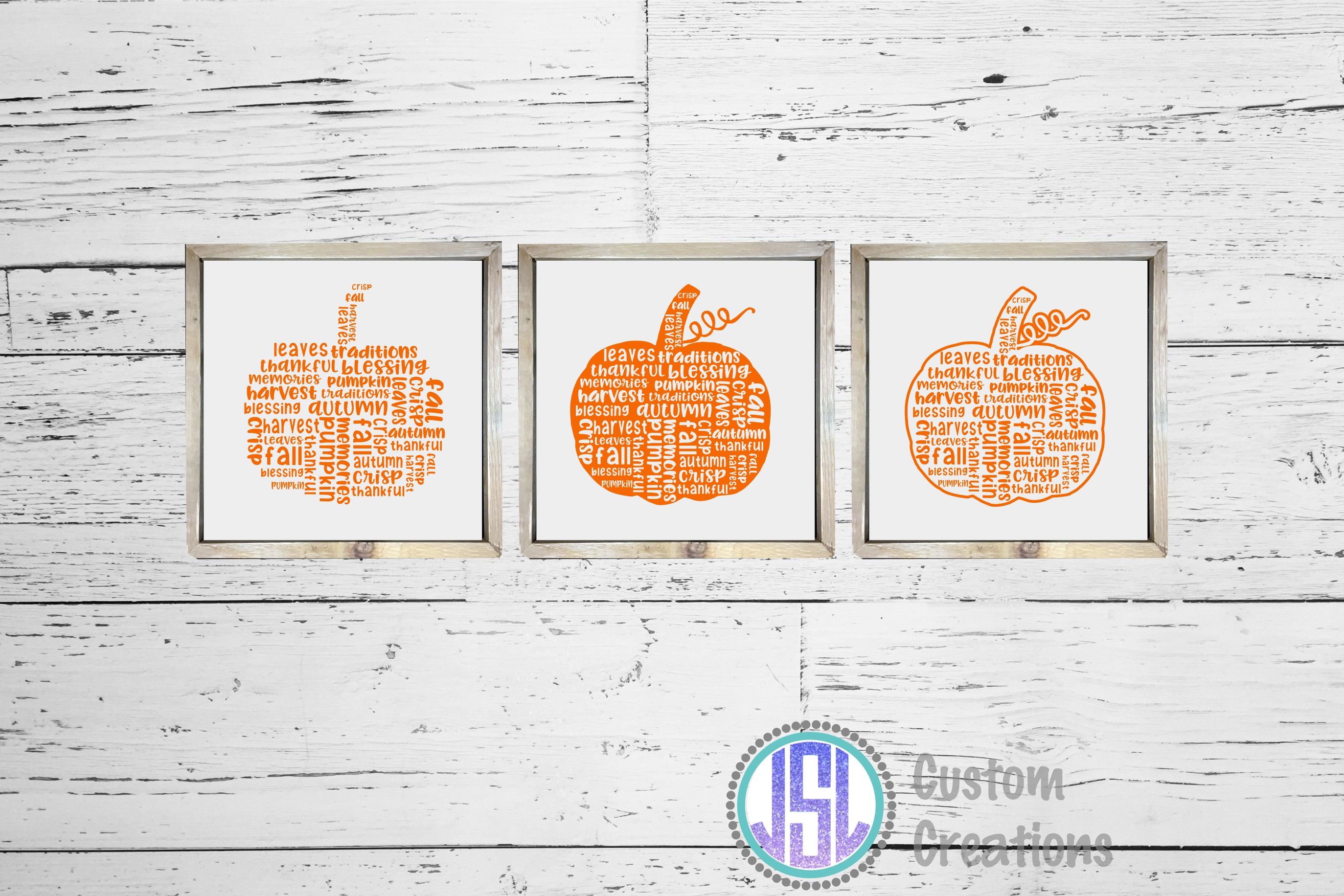 Fall Bundle Set of 23| SVG DXF EPS PNG Cut Files example image 14