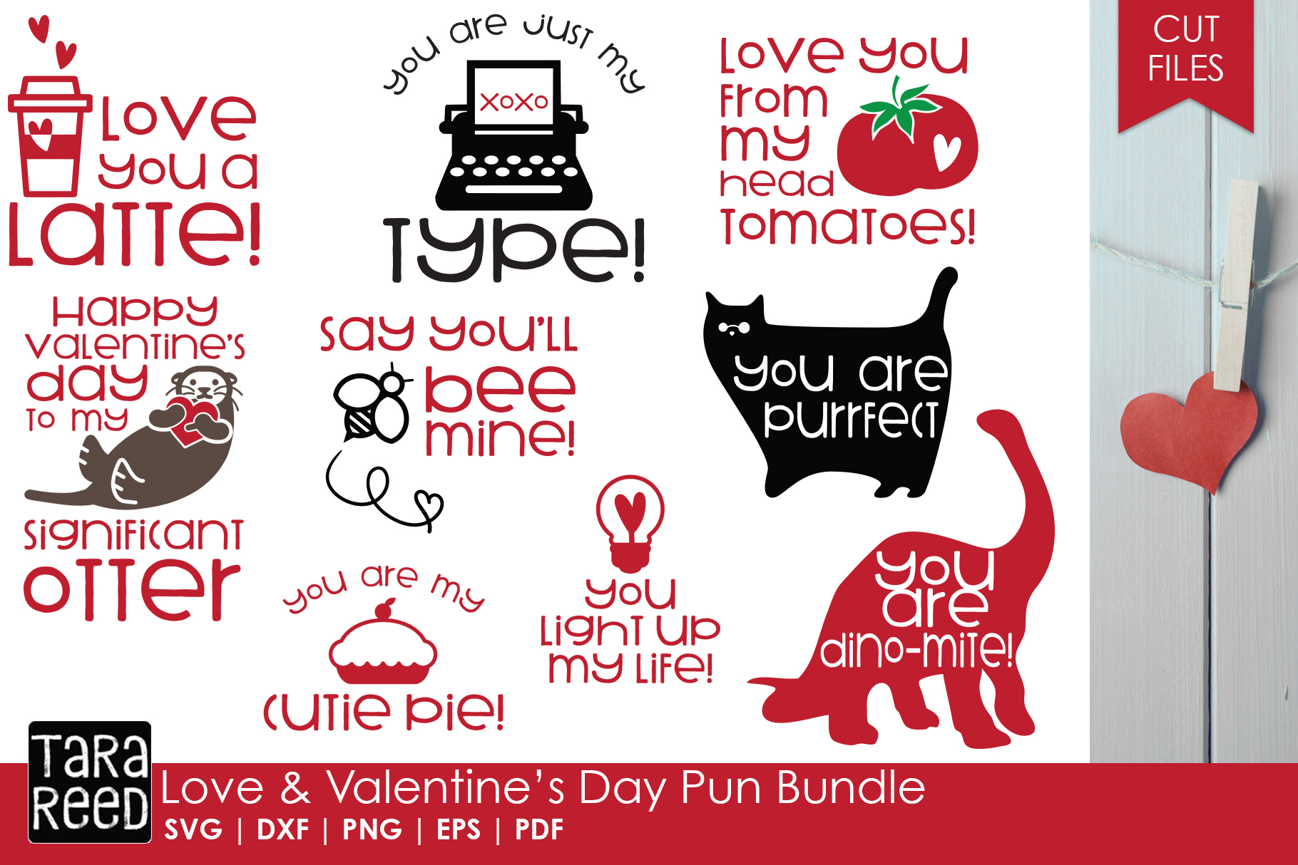 Valentines Day MEGA Bundle - SVG and Cut Files for Crafters example image 2