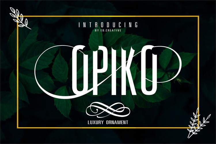 Opiko example image 1