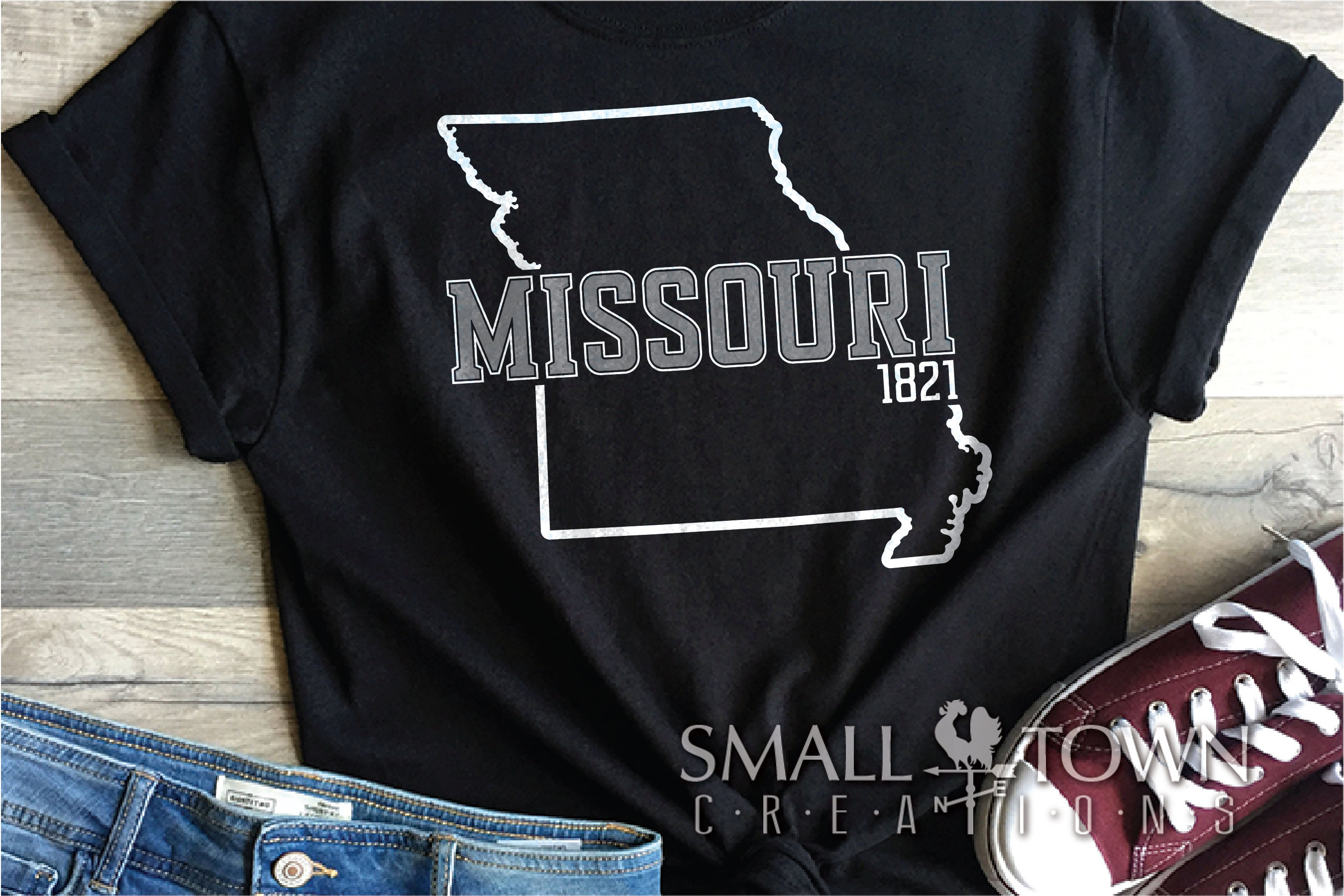 Missouri, State, The show me state, PRINT, CUT & DESIGN example image 8