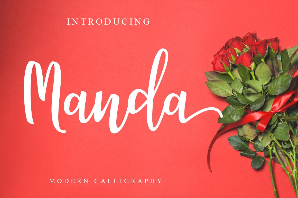 Manda Script Duo example image 1