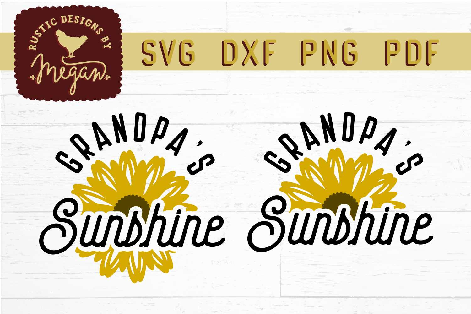 Sunflower SVG Bundle example image 10